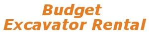 Budget Excavator Rental